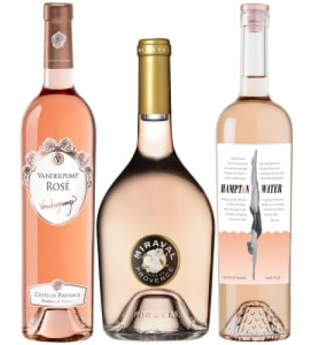 Rose Wine Trio