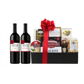 Century Cellars Red Wine Gift Basket