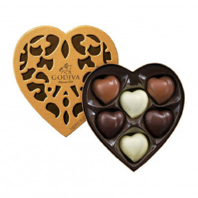 Coeur Iconique Chocolates (6 Pcs)