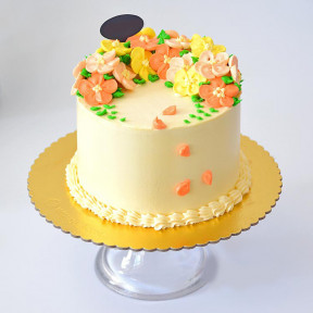 Summer Bliss Buttercream Cake (3.3lb)