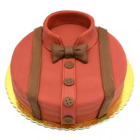 Classic Evening Suit Red Velvet Cake