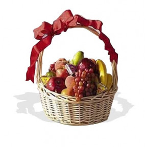 Fresh Fruit And Cheese Hamper