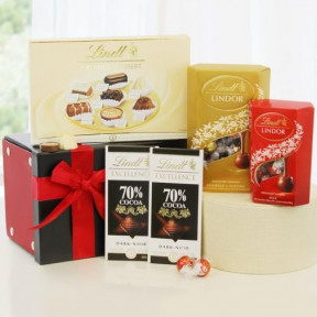 Deliciously Chocolatey Lindt Chocolate Gift Box