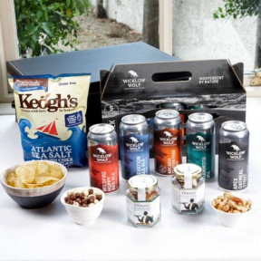 Wicklow Wolf Craft Beer Hamper Gift Box