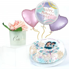 Dragonfly Gift Set (Small Cake Set (M) Serves 10 )