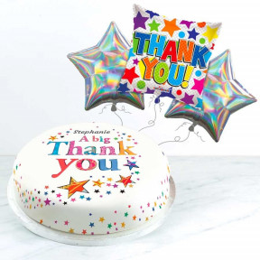 A Big Thank You Gift Set (Small Cake Set (S) Serves 10 )