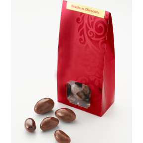 Brazil Nuts Rolled in Milk Chocolate