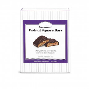 See's Awesome Walnut Square Bars