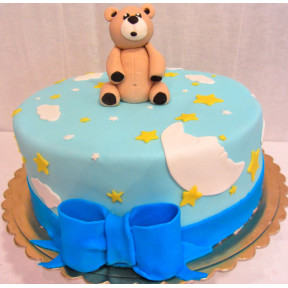 Baby Boy Cake (Eight inch )