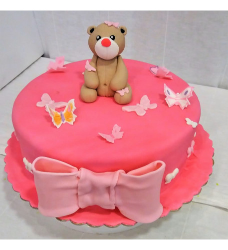 Baby Girl Cake (Eight inch )