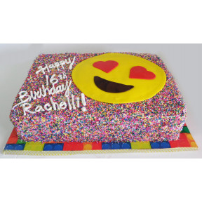 Emoji Cake 2 (Eight inch )