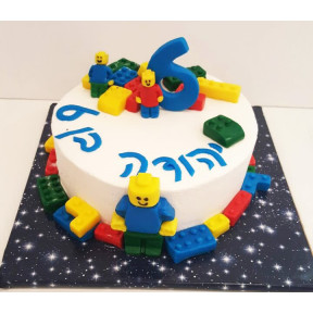 Lego Cake (Eight inch )