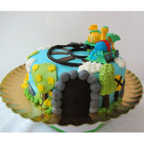 Train Cake (Eight inch )