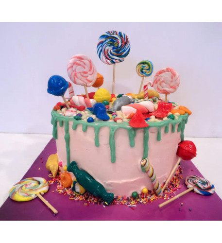 Candyland Cake (Eight inch )