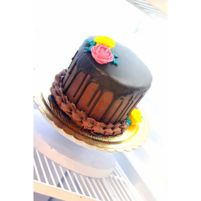 Chocolate Ganache Cake (Six inch )