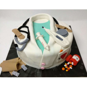 Doctor Cake (Eight inch )