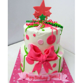 Fun Girl Cake 1 (Six inch on Eight inch )