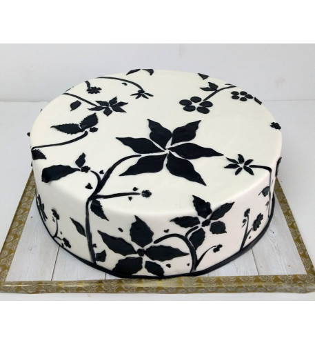 Garden Shadow Cake (Eight inch )