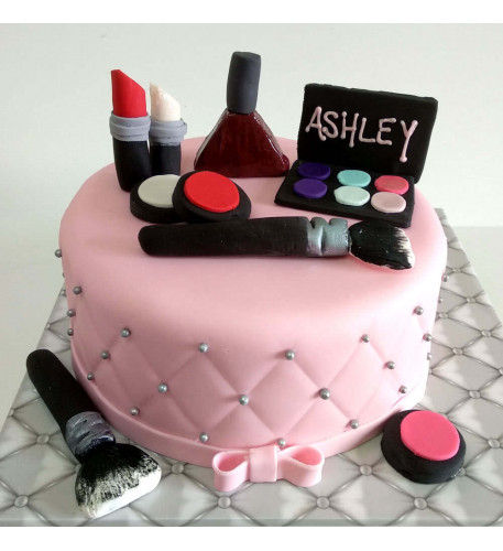 Makeup Cake (Eight inch )