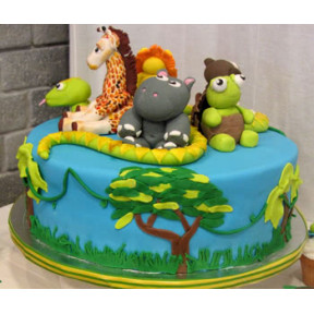 Safari Cake (Eight inch )