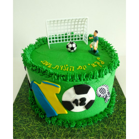 Soccer Ball Cake (Eight inch )