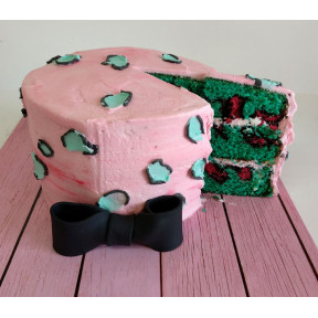 Leopard Cake (Eight inch )