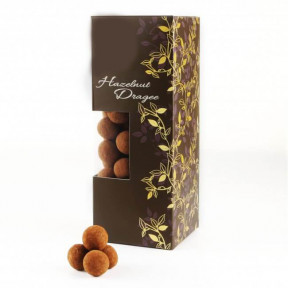 Dark Chocolate Hazelnut Dragee (190G)