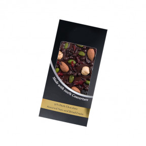 Dark Chocolate - Assorted Nuts And Dried Fruits