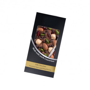 Milk Chocolate - Assorted Nuts And Dried Fruits