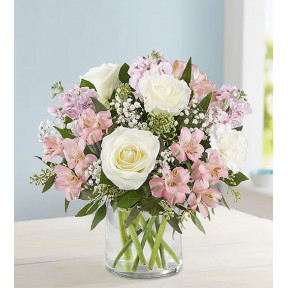 Elegant Blush Bouquet (Small)