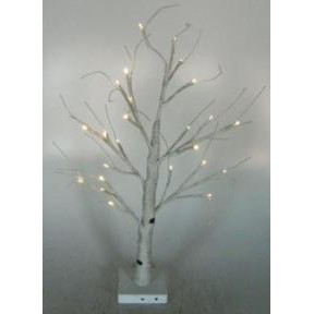 Artificial Decorative Led White Birch Tree