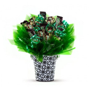 Chocoholic's Choice Candy Bouquet (Small)