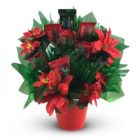 Ghirardelli® Poinsettia Candy Bouquet (Small)