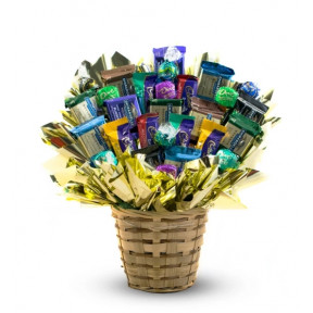 Dark Chocolate Decadence Candy Bouquet (Regular)