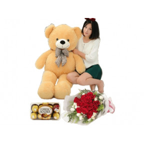 Giant 1 Metre Teddy Combo (Small)