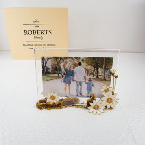 Personalised Family Photo Frame Daisy