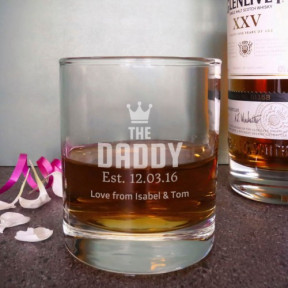 The Daddy Whisky Glass