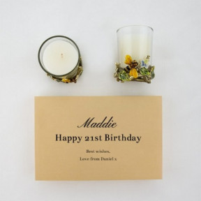 Personalised Candles With A Message