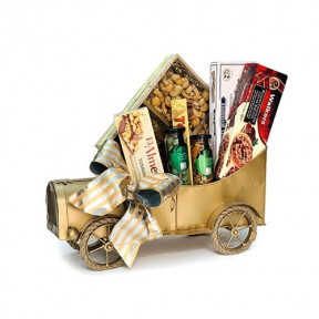 Golden Car Chocolate Gift Hamper