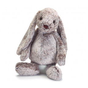Jellycat Grey Fluffy Soft Bunny