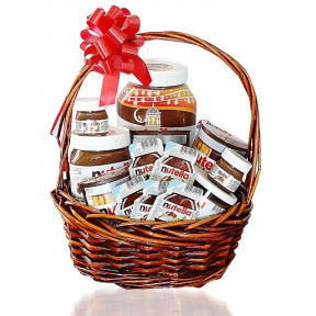 'Nutella Nuts' Gift Basket