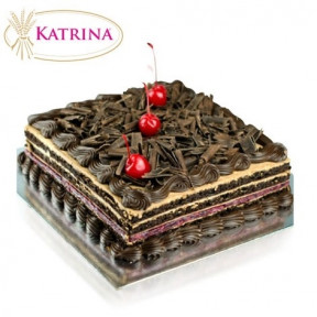Chocolate Black Forest Cake - 1Kg