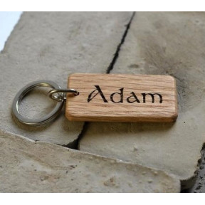 Personalized Wooden Key-chain
