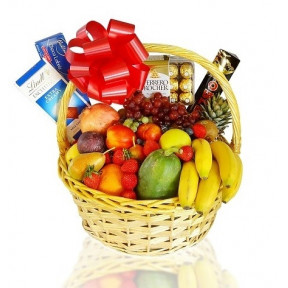 Ultimate Fruit And Chocolate Gift Basket