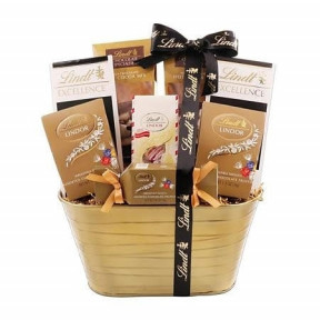 Golden Lindt Gift Hamper