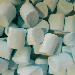 Marshmallows - Blue coloured