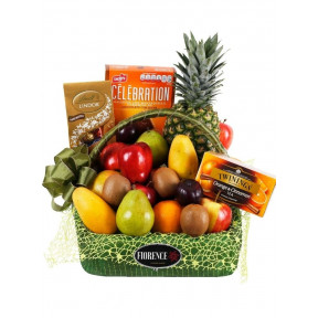 Gourmet Sweet And Fruity Gift Basket