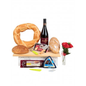 Cheese And Wine Table Set