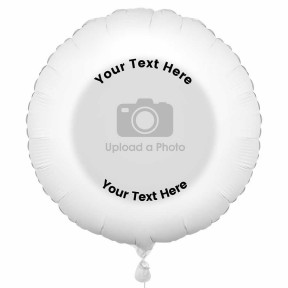 Photo Balloon With Text