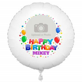Happy Birthday Photo Balloon